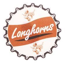 Texas Longhorns Bottle Cap Vault Decal University Co Op