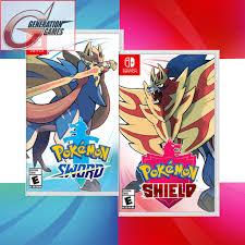 Nintendo Switch Pokemon Sword / Pokemon Shield / Double Pack ...