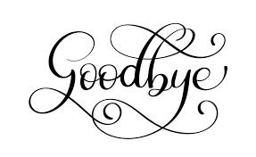 Mot de lettrage calligraphie manuscrite au revoir. illustration vectorielle  sur fond blanc - Telecharger Vectoriel Gratuit, Clipart Graphique, Vecteur  Dessins et Pictogramme Gratuit