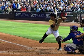 A picture of Nori Aoki I took on this day in 2013 at Miller Park ...