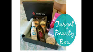 target beauty box unboxing review