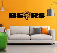 Chicago Bears Nfl Logo Emblem Football Team Vinyl Decal Sticker Wall Sticker Usa