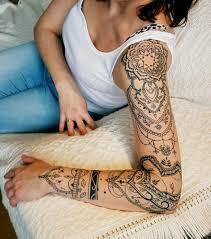 Whole Sleeve Tattoo Mandala With Images Wzory Tatuazy