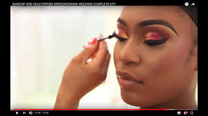 makeup and gele transformation power of