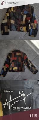 Ivan Scott Leather Jacket Vintage leather jacket. Designer Ivan ...