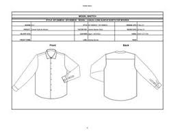 Tech Pack - Ls shirts by Rosanne Smith - issuu
