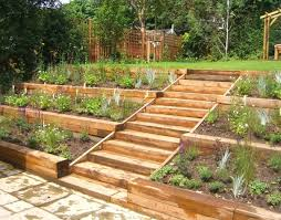 we made a feature of the garden s slope