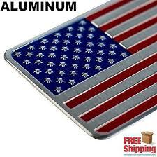 3d Metal American Flag Sticker Decal Emblem Bumper Sticker For Auto Truck Car Ebay