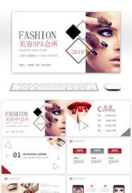 makeup powerpoint template free