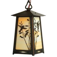 arts and crafts style interior lighting
