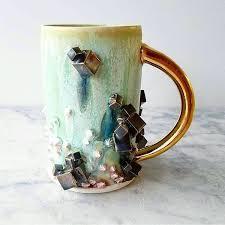 custom ceramic coffee mugs doubles as