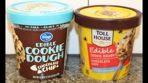 chocolate chip edible cookie dough