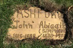 Abigail Simmons Ashford (1833-1924) - Find A Grave Memorial