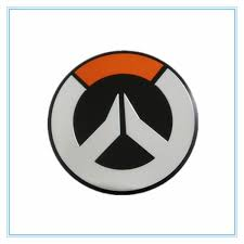 3d About Overwatch Logo Symbol Suitcase Metal Emblem Decorative Decal Sticker B Wish