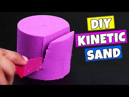 diy stress and kinetic sand by