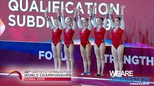 worlds of women s artistic gymnastics