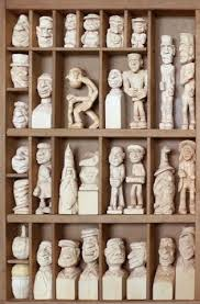 Ivan Snyder | Carving, Wood carving, Statue