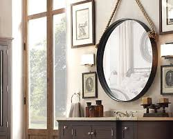 decorating ideas with rope mirrors