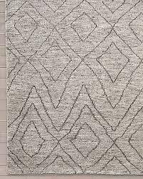 double diamond moroccan wool rug