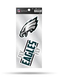Philadelphia Eagles 2 Pack Die Cut Auto Decal Green 7141927