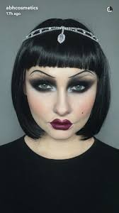 halloween makeup flapper makeup