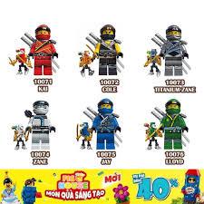 Non-LEGO] Các Nhân Vật Ninjago và Robot Mini 10071-10076 - Đồ Chơi ...