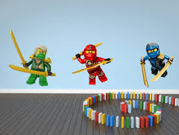 5 99 Gbp Lego Ninjago Wall Sticker Decal Kai Lloyd Jay Children S Kids Set Of 3 Bedroom Ebay Home Garden Kids Decals Ninjago Lego Ninjago