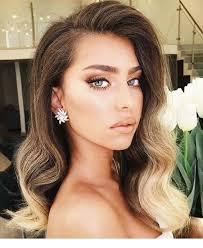 natural wedding makeup great look for