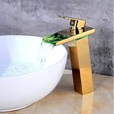 plated ceramic valve one hole faucet