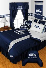 Nfl Seattle Seahawks Bedding And Room Decorations Modern Bedroom Seattle By Store51 Llc