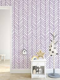 Amazon Com Costacover Self Adhesive Herringbone Removable Wallpaper With Purple Chevron Hand Drawn Arrows Wall Decal Cc132 Handmade