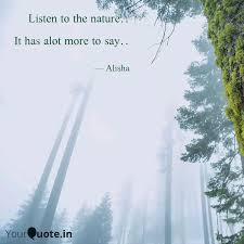 listen to the nature it quotes writings by doraemon