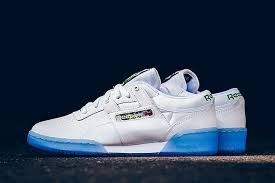 reebok workout lo clean sf white ice