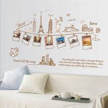 Creative Travel Memories Picture Wall Decal Globe Traveler Store