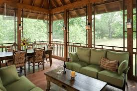 screened porch floor plans ideas wooden