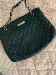 quilted leather shoulder handbag