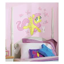 Roommates Decor My Little Pony Fluttershy Giant Wall Decals Girls Room Stickers Walmart Com Walmart Com