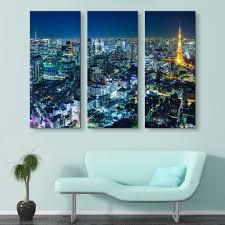 Tokyo Skyline At Night Epik Canvas