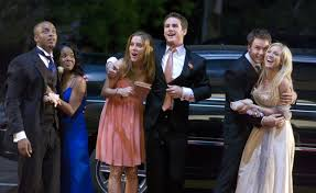 Prom night - Nelson McCormick, Brittany Snow, Kellan Lutz, Brianne Davis -  CIA