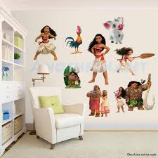 Moana Wall Decal Room Decor Etsy