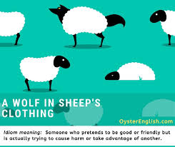idiom a wolf in sheep s clothing