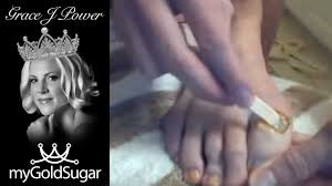 how to sugar your toes hair removal