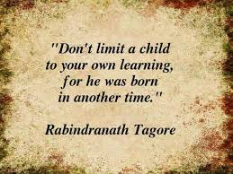 rabindranath tagore s quotes on education career