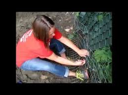 How To Dig Proof Extend Your Fence Youtube