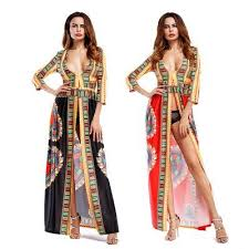 women summer printed boho dress new