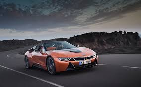 Download Wallpapers Bmw I8 Roadster 4k 2018 Cars Supercars