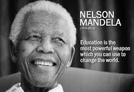 education quotes by nelson mandela fatima jinnah degree college