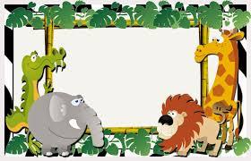 La Selva Invitaciones O Tarjetas Para Imprimir Gratis