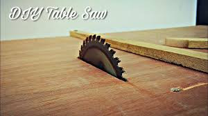 Make A Table Saw With Movable Fence Mistry Maketool