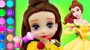 disney princess belle doll custom